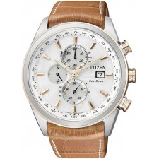 Мужские часы Citizen AT8017-08A Eco-Drive Radio Controlled Chronograph