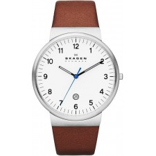 Мужские часы Skagen SKW6082 Leather Classic