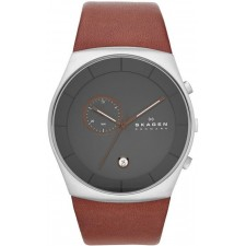 Мужские часы Skagen SKW6085 Leather Classic