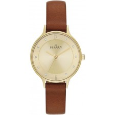 Женские часы Skagen SKW2147 Leather Classic