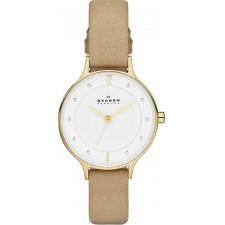 Женские часы Skagen Leather Classic SKW2146