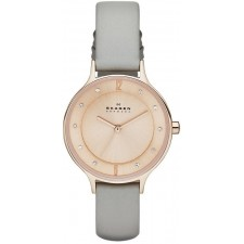 Женские часы Skagen SKW2148 Leather Classic