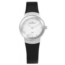Женские часы Skagen 812SSLB1 Leather Classic