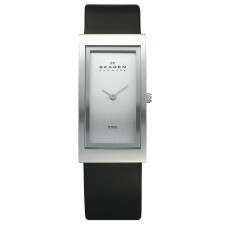 Женские часы Skagen 359USLC Leather Rectangular