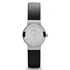 Женские часы Skagen 358XSSLBC Leather Classic