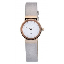 Женские часы Skagen 358XSRLT Leather Classic