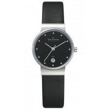 Женские часы Skagen 355SSLB Leather Classic