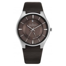 Мужские часы Skagen 989XLSLD Leather Classic