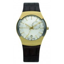 Мужские часы Skagen 983XLGLD Leather Swiss