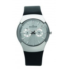 Мужские часы Skagen 583XLSLC Leather Swiss