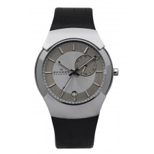 Мужские часы Skagen 983XLSLBC Leather Swiss