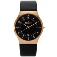 Мужские часы Skagen 233XXLRLB Leather Classic