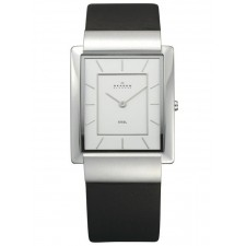 Мужские часы Skagen 224LSL Leather Rectangular