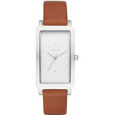 Женские часы Skagen SKW2464 Hagen Rectangular Leather