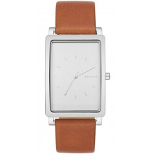 Мужские часы Skagen SKW6289 Hagen Rectangular Leather