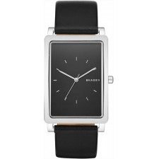 Мужские часы Skagen SKW6287 Hagen Rectangular Leather