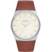 Мужские часы Skagen SKW6084 Leather Classic