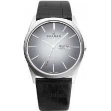 Мужские часы Skagen 890XLSLM Leather Classic
