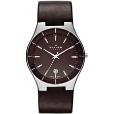Мужские часы Skagen SKW6038 Leather Classic