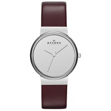 Женские часы Skagen SKW2077 Leather Classic