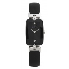 Женские часы Skagen H01SSLB Leather Rectangular
