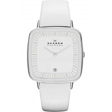 Женские часы Skagen SKW2013 Leather Rectangular