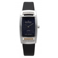 Женские часы Skagen 985SSLBN Leather Swiss