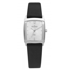 Женские часы Skagen 691SSLB Leather Rectangular