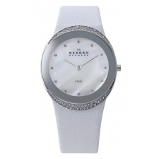 Женские часы Skagen 452LSLW Leather Classic