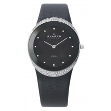 Женские часы Skagen 452LSLB Leather Classic