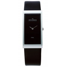 Женские часы Skagen 359USLB Leather Rectangular