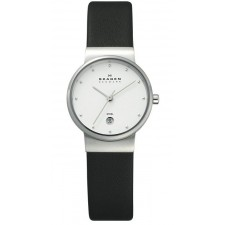Женские часы Skagen 355SSLW Leather Classic