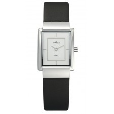 Женские часы Skagen 224SSL Leather Rectangular