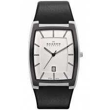 Мужские часы Skagen SKW6003 Leather Rectangular
