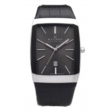 Мужские часы Skagen 984LSLB Leather Swiss
