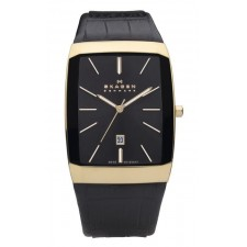 Мужские часы Skagen 984LRLB Leather Swiss