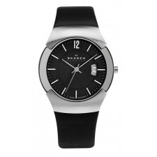Мужские часы Skagen 981XLSLB Leather Swiss