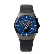 Мужские часы Skagen 901XLMLN Leather Swiss