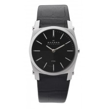Мужские часы Skagen 859LSLB Leather Classic