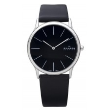 Мужские часы Skagen 858XLSLB Leather Classic