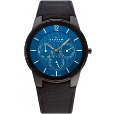 Мужские часы Skagen 856XLBLN Leather Classic