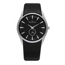Мужские часы Skagen 808XLSLB Leather Swiss