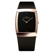 Мужские часы Skagen 584LRLM Leather Swiss