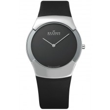 Мужские часы Skagen 582XLSLM Leather Swiss