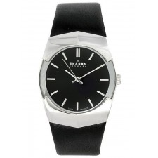 Мужские часы Skagen 580XLSLB Leather Swiss