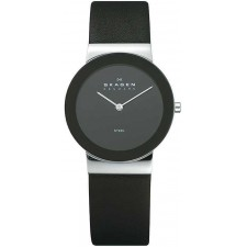 Мужские часы Skagen 358LSLB Leather Classic