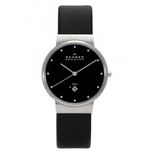 Мужские часы Skagen 355LSLB Leather Classic