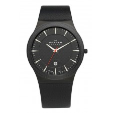 Мужские часы Skagen 234XXLTLB Leather Titanium