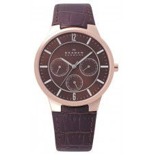 Мужские часы Skagen 331XLRLD Leather Classic