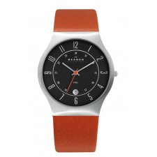 Мужские часы Skagen 233XXLSLO Leather Classic